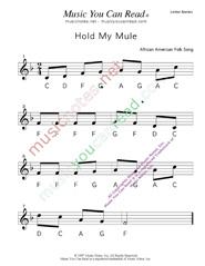 Hold My Mule Lyrics : lyrics, Mule