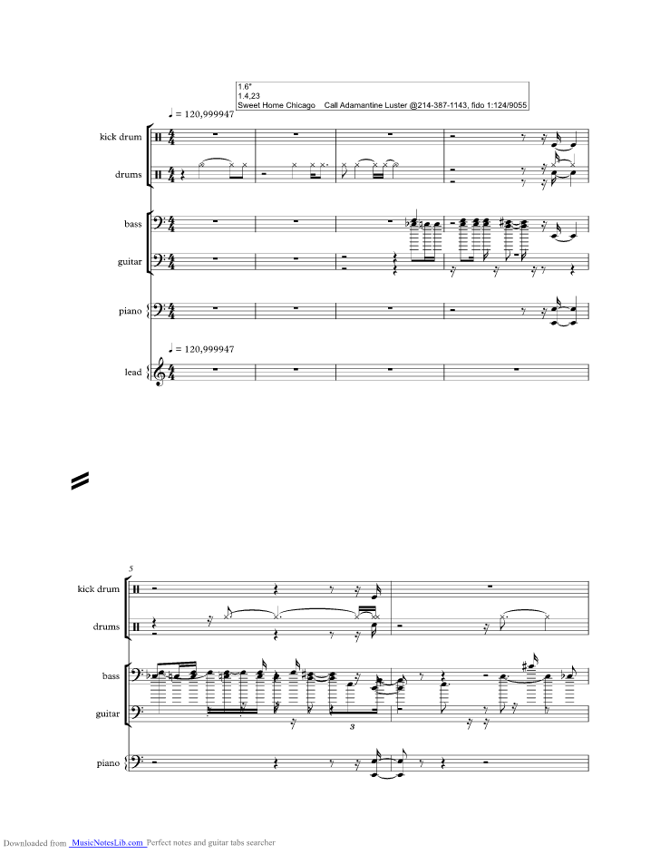 May 21, 2019· chorus e5 a5 e5 come on, oh baby don't you want to go a7 e5 come on, oh baby don't you want to go b7 a7 back to that same old place e5 a5 bb5 b5 sweet home chicago … Sweet Home Chicago Music Sheet And Notes By Blues Brothers Musicnoteslib Com