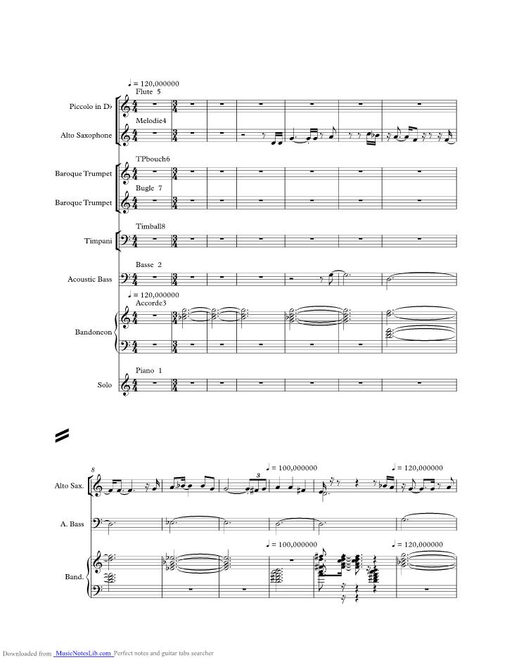 Jacques Brel Dans Le Port D Amsterdam : jacques, amsterdam, Damsterdam, Music, Sheet, Notes, Jacques, Musicnoteslib.com