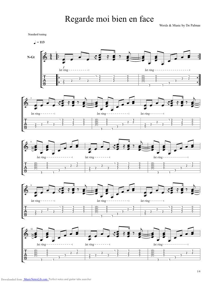 J'en Reve Encore Paroles : encore, paroles, Partition, Guitare, Encore
