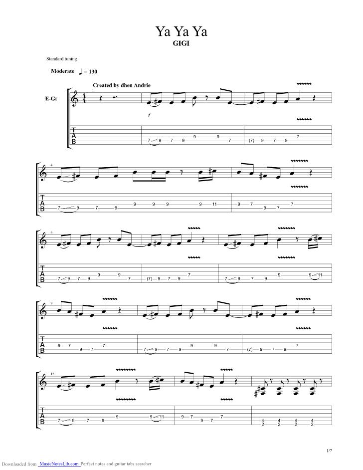 Chord Gigi Dengan Menyebut Nama Allah : chord, dengan, menyebut, allah, Guitar, Musicnoteslib.com
