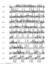 Sheep music sheet and notes by Pink Floyd @ musicnoteslib.com