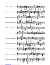 Last Date music sheet and notes by Floyd Cramer