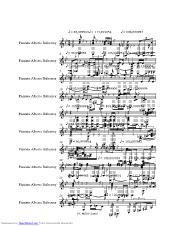 La Cumparsita music sheet and notes by Tango