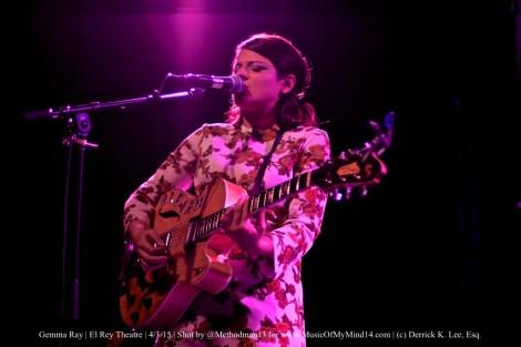 Gemma Ray   El Rey Theatre   4/3/15