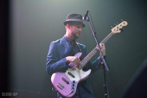 John Buck Headshot Playing Bass