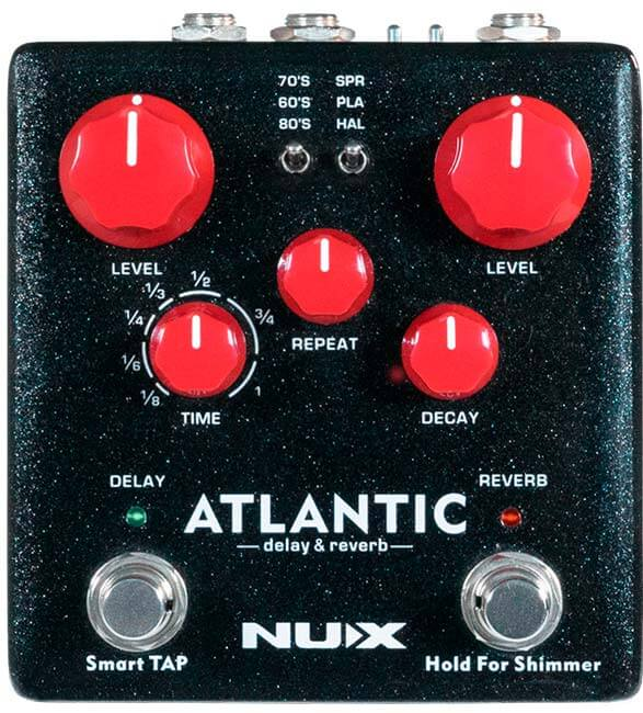 peda-para-guitarra-nux-atlantic-reverb-e-delay