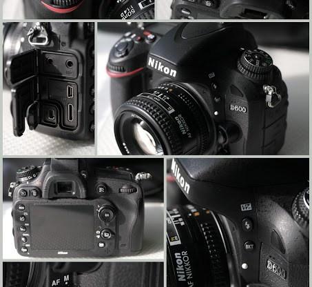 Nikon D600 collage