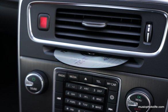 Volvo S60 T5 DVD slot