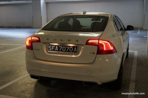 Volvo S60 T5 rear lights