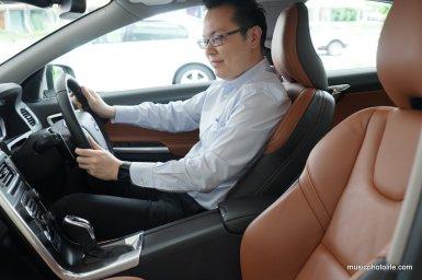 Volvo S60 T5 driver seat