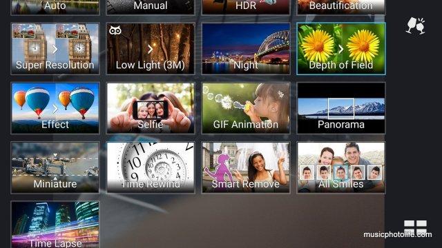 ASUS Zenfone 2 Camera Modes
