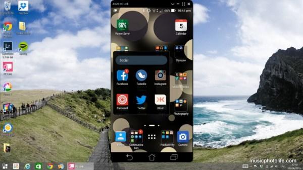ASUS Zenfone 2 screenshot PCLink