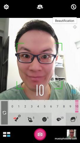 ASUS Zenfone Selfie Beautification