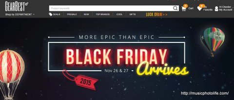 GearBest Black Friday by musicphotolife.com