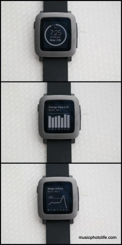 Pebble Time Misfit screen