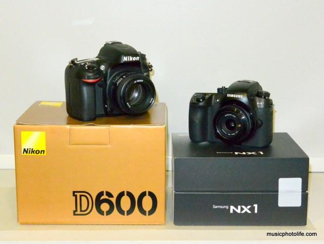Nikon D600 vs. Samsung NX1