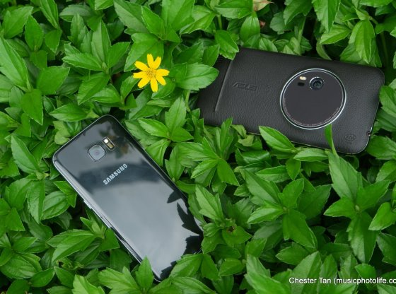 Samsung Galaxy S7 edge vs. ASUS Zenfone Zoom by musicphotolife.com