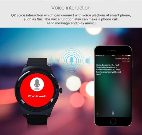 Q2 Smartwatch from GearBest