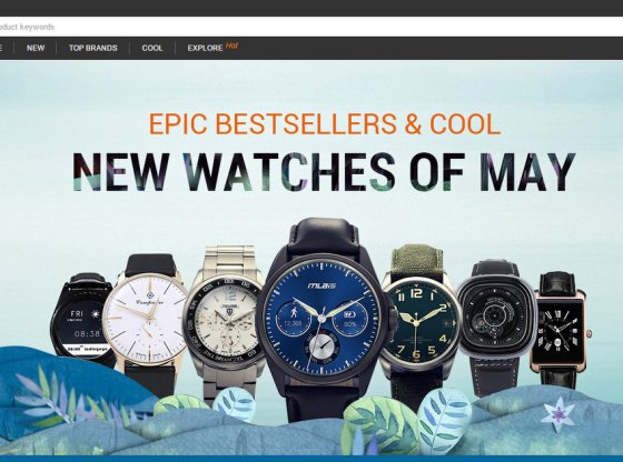 GearBest Smartwatch Promotion May