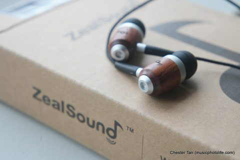 ZealSound HDE-300 close up angle