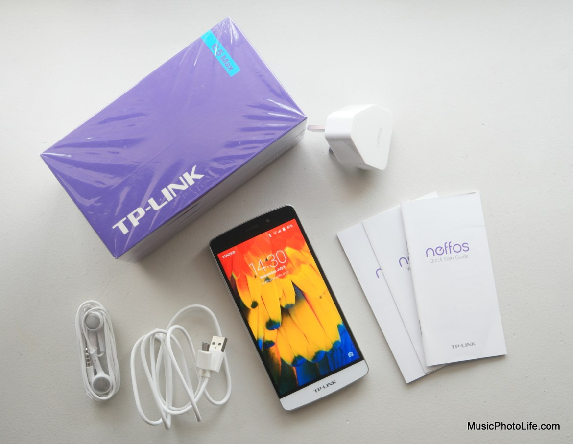 Neffos C5 Max unboxing