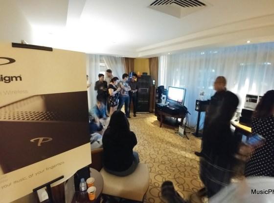 Paradigm PW Series launch event in Singapore
