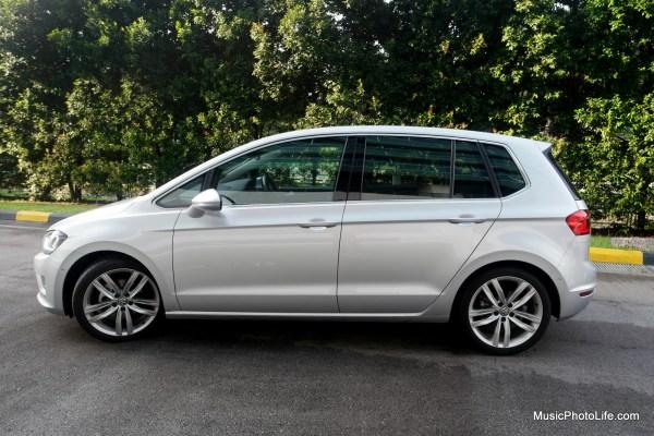 Volkswagen Sportsvan side view