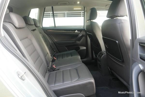Volkswagen Sportsvan rear seats