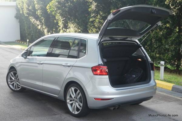 Volkswagen Sportsvan boot space