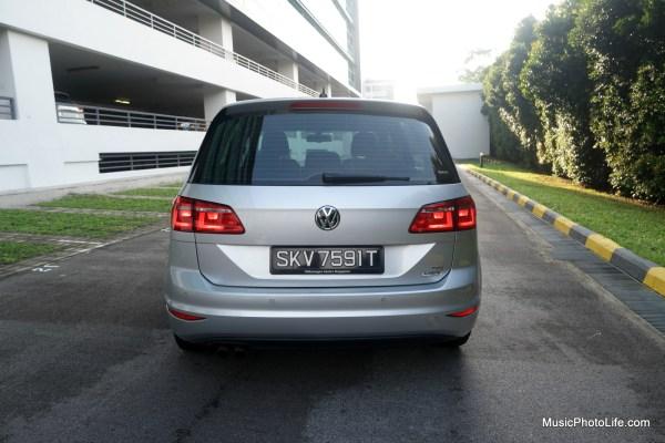 Volkswagen Sportsvan back view