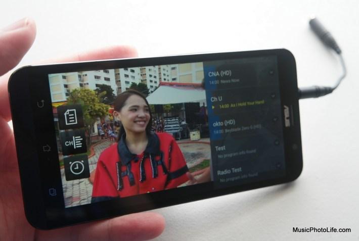 ASUS Zenfone Go TV app