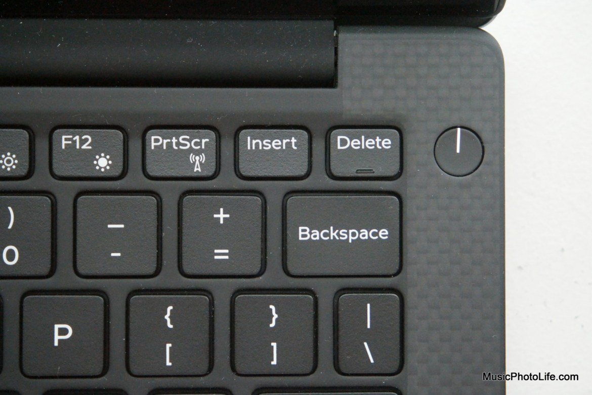 Dell XPS 13 (2016) power button
