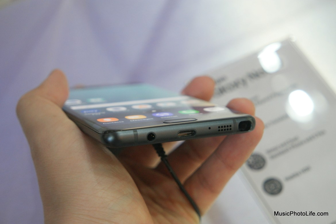 Samsung Galaxy Note7 features USB Type-C port