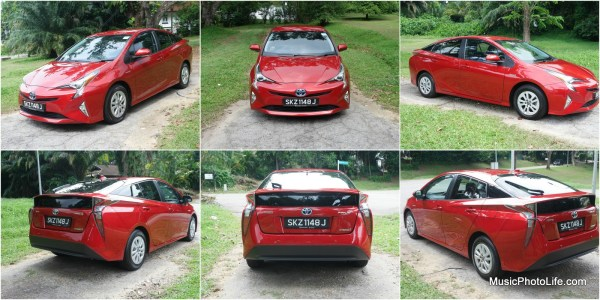 Toyota Prius 2016 all angles