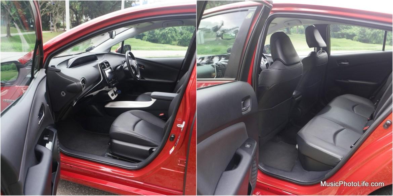 Toyota Prius 2016 seats