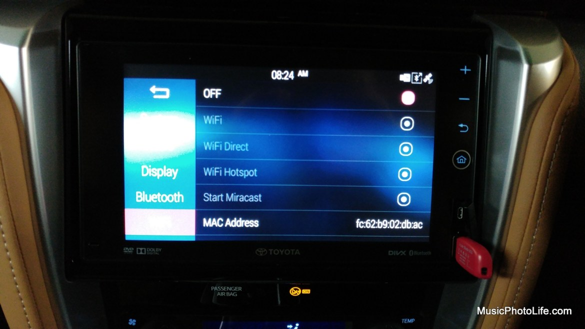 Telematics System connectivity on the Toyota Fortuner