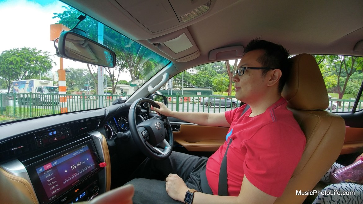 Driving the Toyota Fortuner