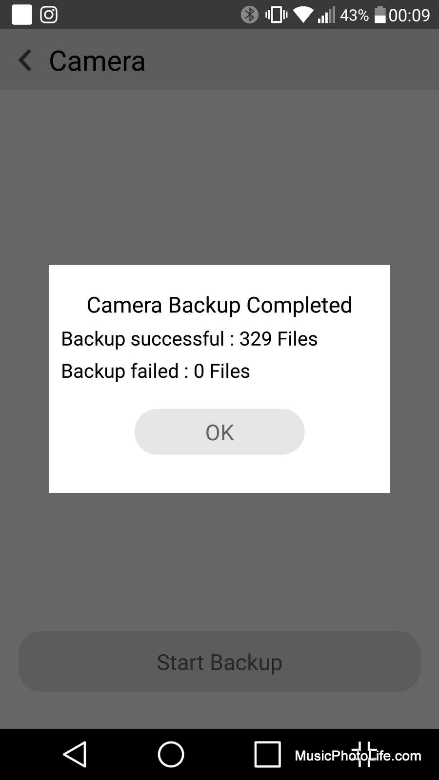 ASUS AiDrive camera backup