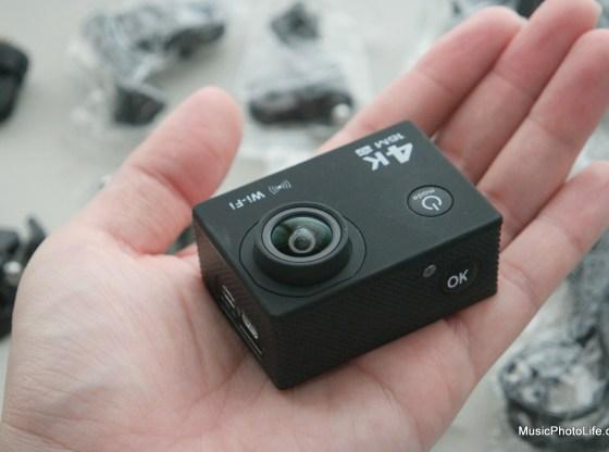 XDC V3 Sports Camera on hand