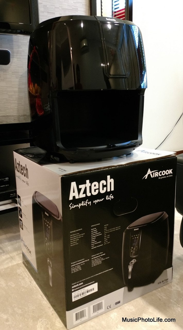 Aztech Aircook air fryer review