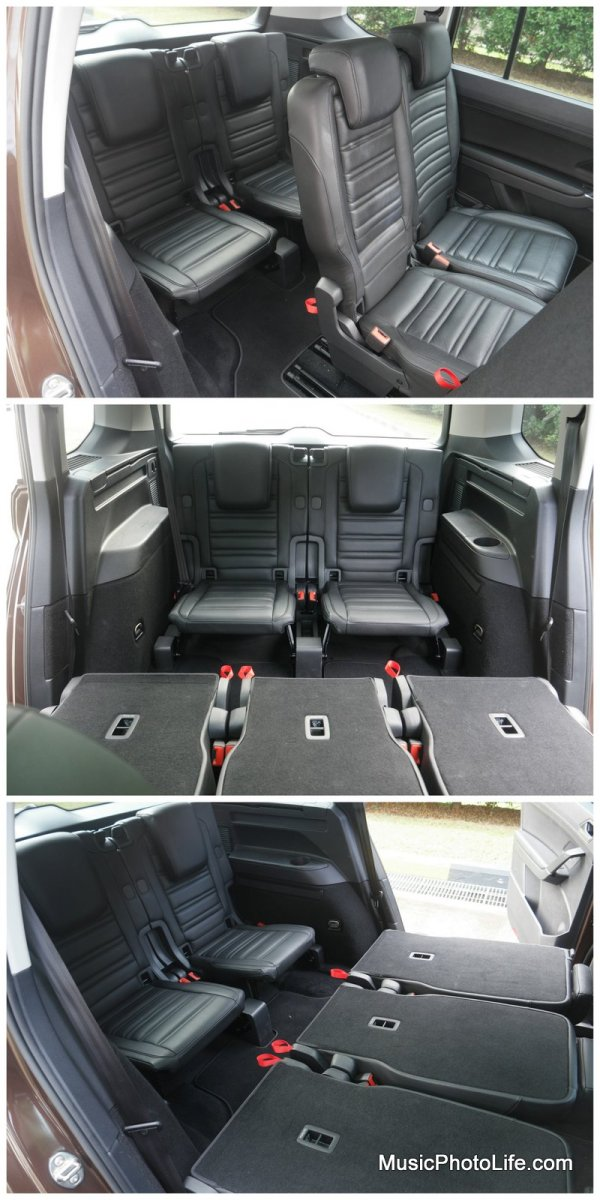 Volkswagen Touran third row seats