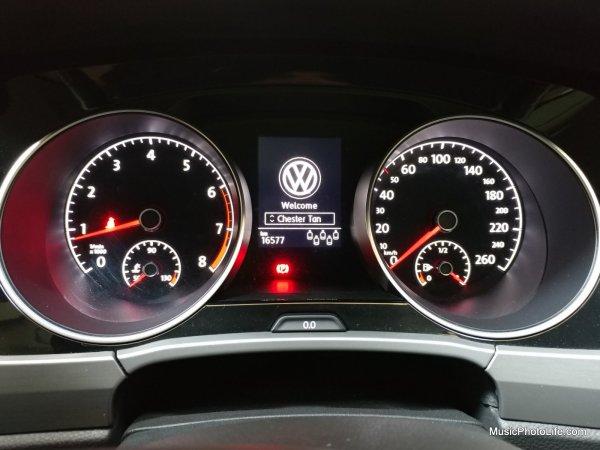 Volkswagen Touran personalised profile name