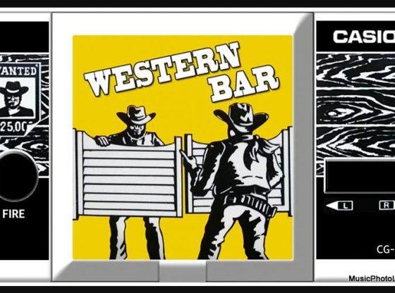 Western Bar Casio handheld game CG-300 screenshot