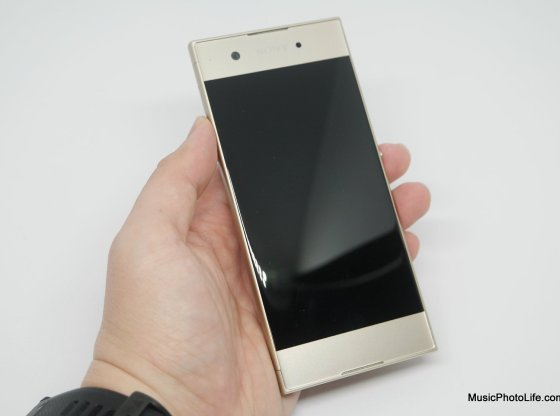 Sony Xperia XA1 review by musicphotolife.com