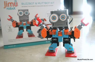 UBTECH Jimu Robot Buzzbot Kit review by musicphotolife.com