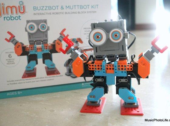 UBTECH Jimu Robot Buzzbot Kit review by musicphotolife.com