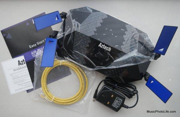 Aztech AIR-706P Mesh Router review by musicphotolife.com