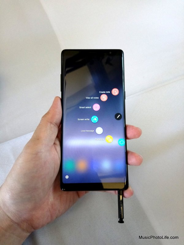Samsung Galaxy Note8 Singapore First Look by musicphotolife.com