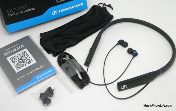 Sennheiser CX 7.00BT review by musicphotolife.com